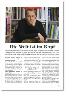 Interview Diogenes Magazin Nr 2/Frühjahr 2010